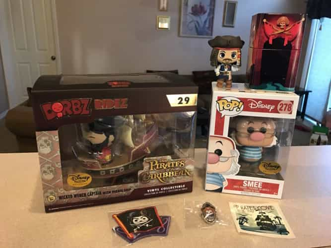 Disney Treasures Pirates Cove Spoilers
