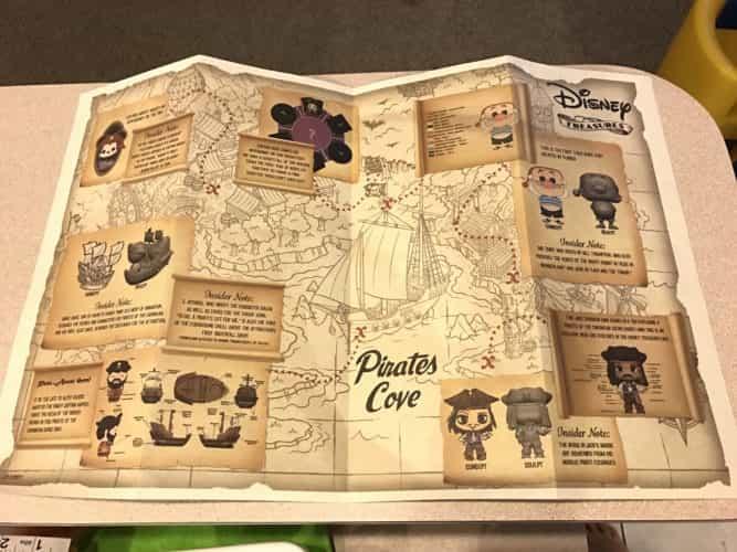 Disney Treasures Pirates Cove details