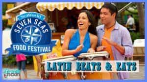 Florida E-Ticket – 'SeaWorld's Seven Seas Food Festival: Latin Eats & Beats' – April 22, 2017