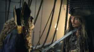 Johnny Depp surprises Disneyland guests with appearance on Pirates of the Caribbean attraction