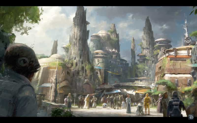 Star Wars Celebration new Star Wars land details