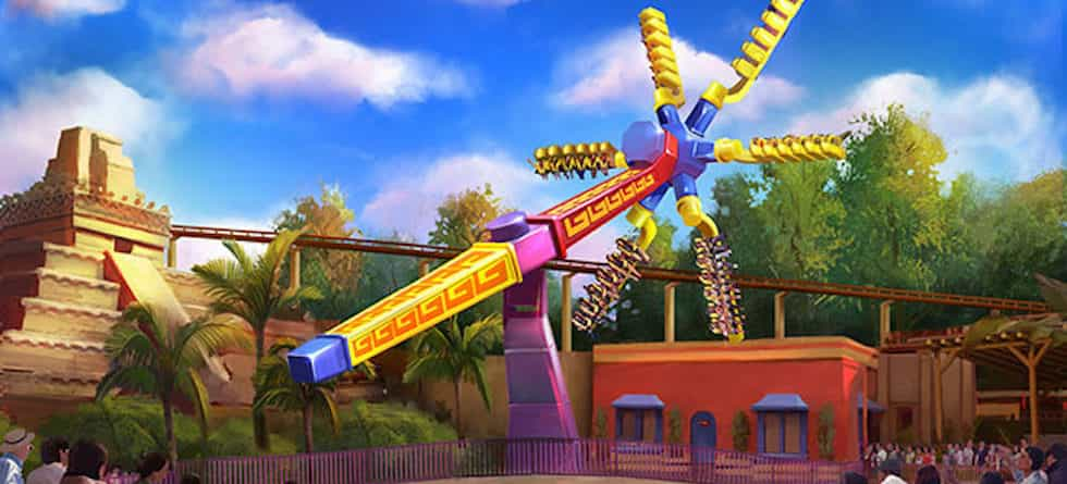 Knott's Berry Farm announces new thrill ride, Sol Spin, now open in Fiesta Village