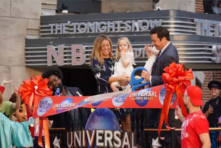 Race Through New York Starring Jimmy Fallon is now open