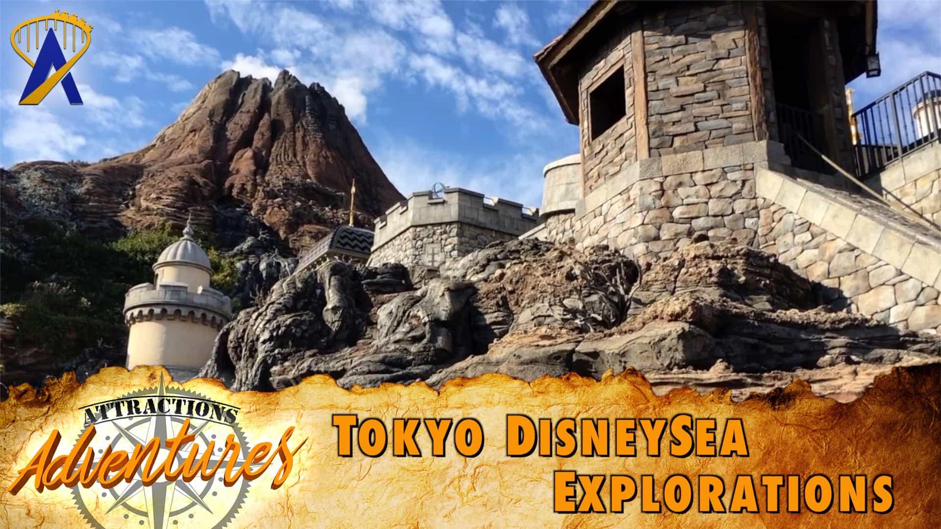 Attractions Adventures Tokyo Disneysea Explorations