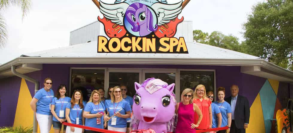 Give Kids the World Village 'Twinkle Hope's Rockin' Spa' opens for children and families