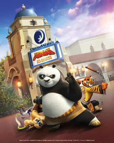 Universal Studios Hollywood Dreamworks Theatre featuring Kung Fu Panda