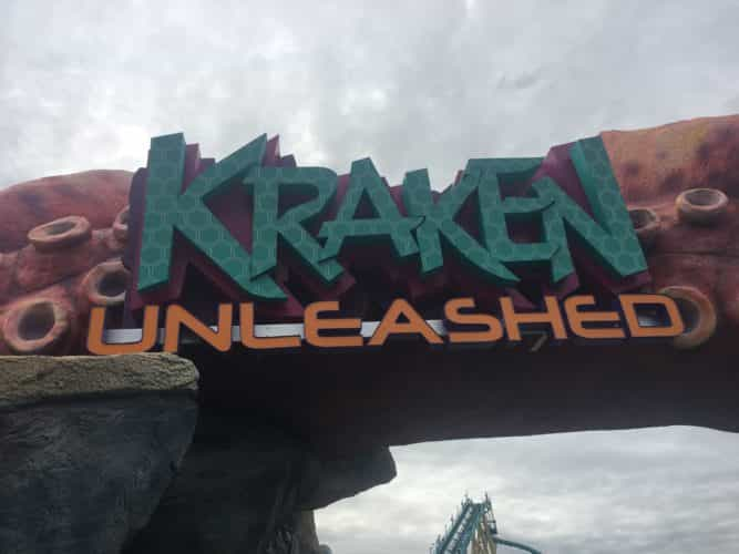 SeaWorld Spot Saver Kraken Unleashed