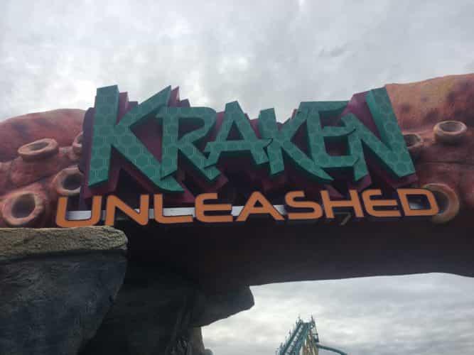 SeaWorld Spot Saver Kraken Unleashed