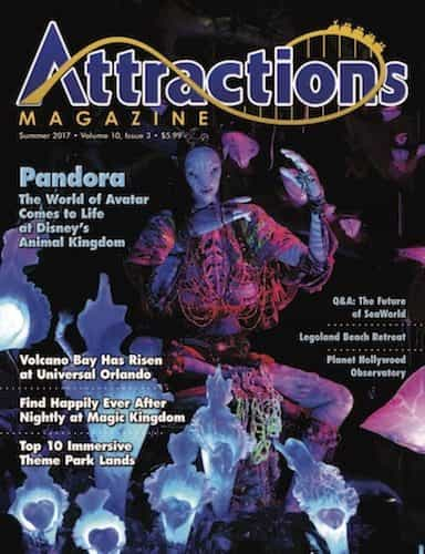 Summer 2017 Attractions Magazine cover