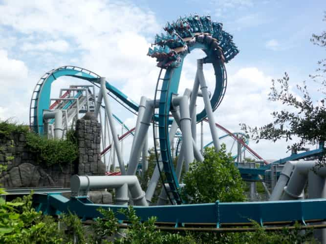 Dragon Challenge closing Harry Potter coaster