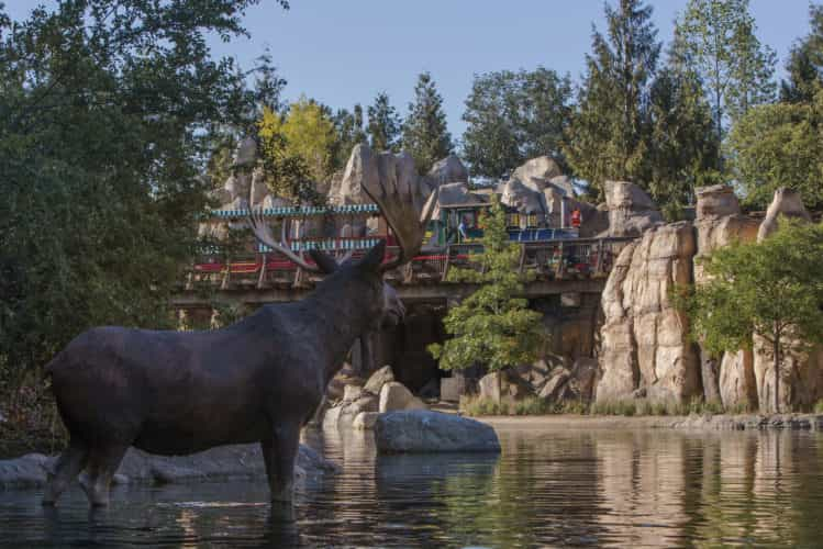 Disneyland Railroad Rivers of America