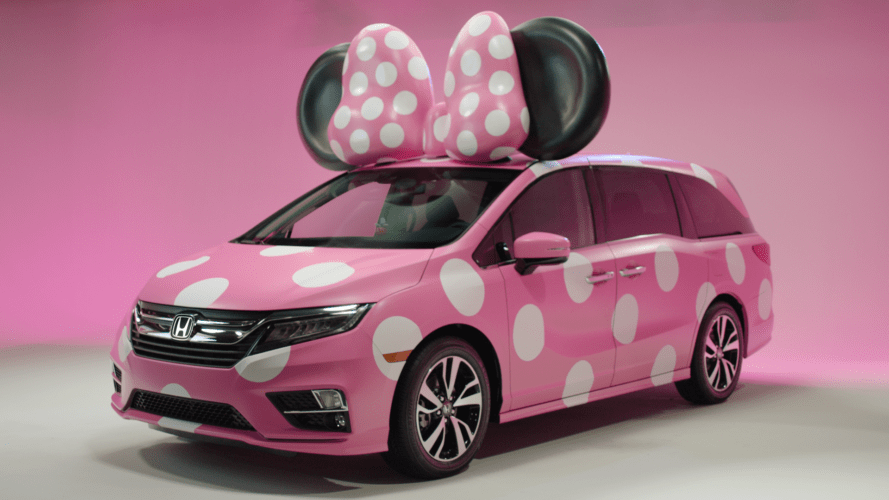 D23 Expo 2017 Honda Minnie Van