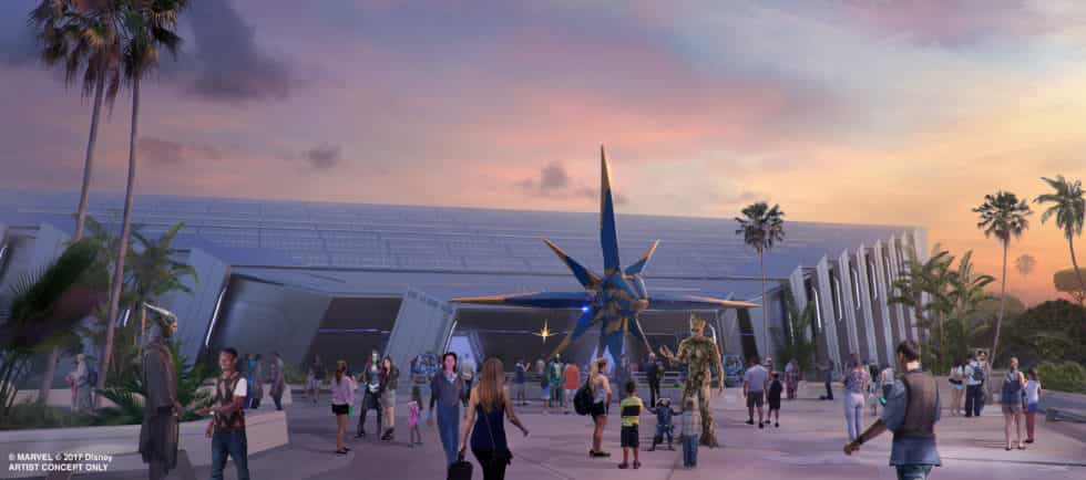 Guardians of the Galaxy Epcot Universe of Energy