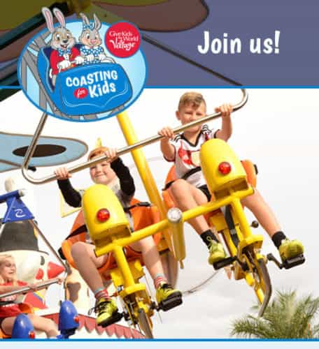 Give Kids the World Village Coasting for Kids