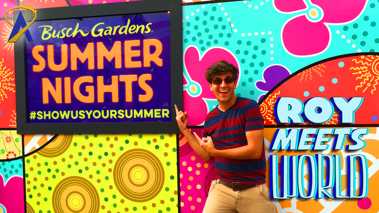 Roy Meets World 39 Summer Nights At Busch Gardens Tampa 39