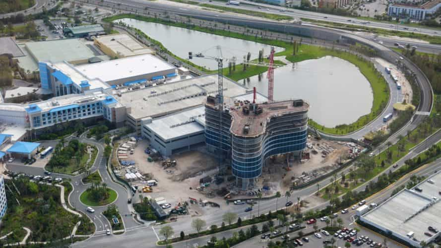 Photo Update Universal And Disney Construction September