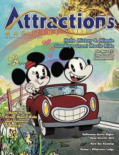 Fall 2017 cover of Attractions Magazine