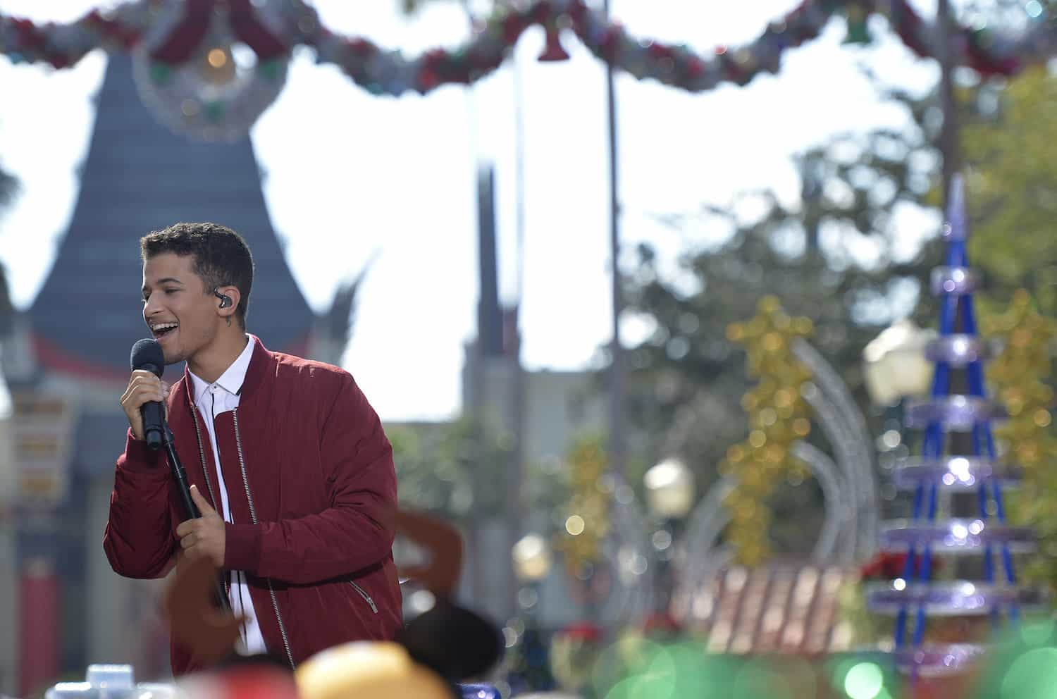 13 2016 during the taping of the abc holiday tv special the disney parks magical christmas celebration at disneys hollywood studios