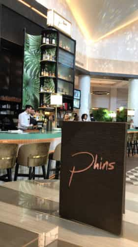 Phins pub in the Dolphin lobby