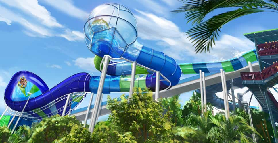Ray Rush Aquatica