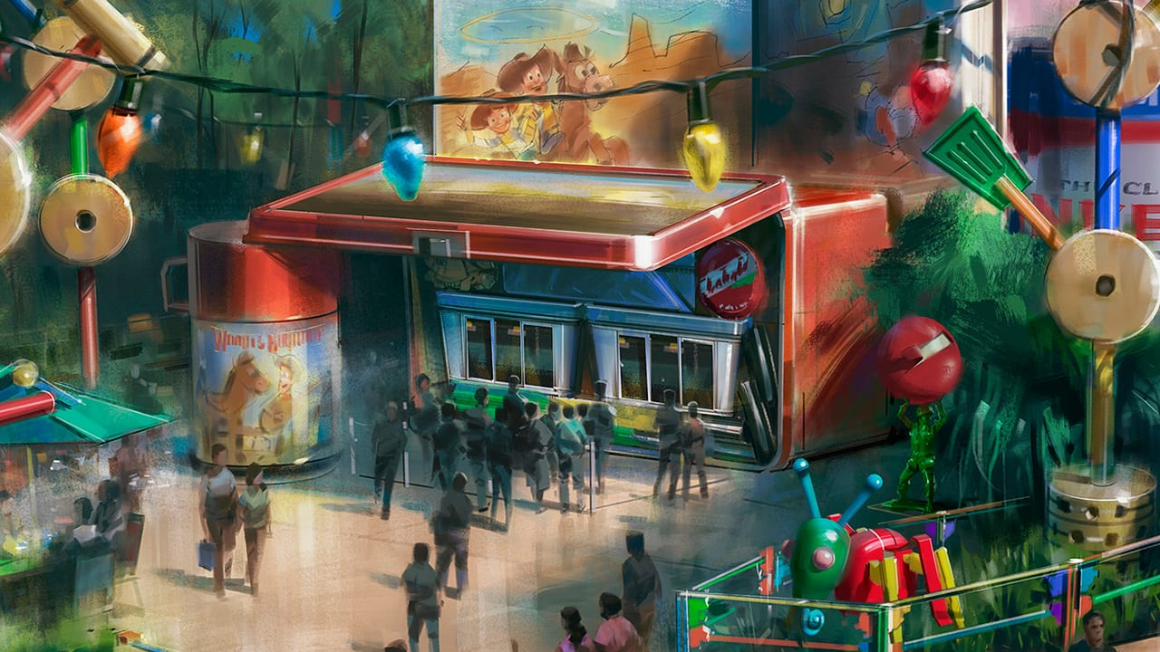 Disney releases plans for Toy Story Land eatery