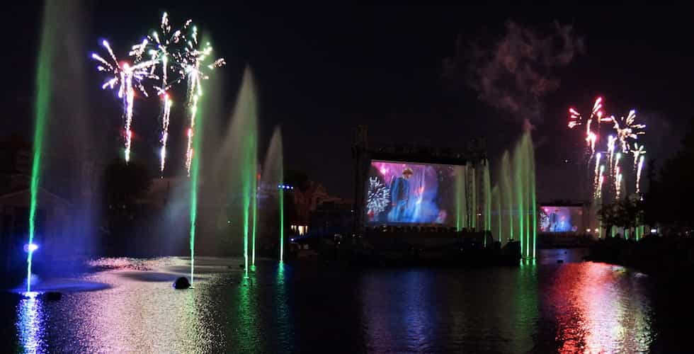 universal lagoon show