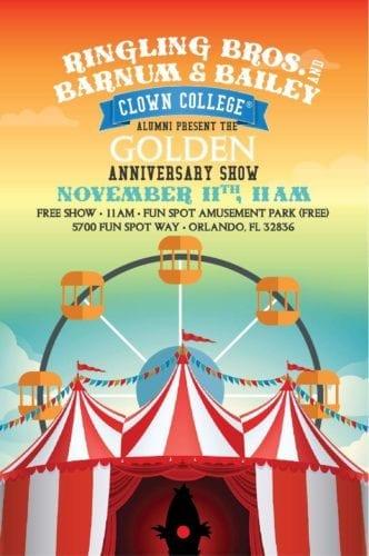 Clown College Golden Anniversary