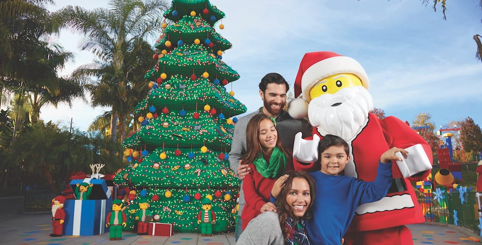 Deck the halls with Lego during Holidays at Legoland California Resort