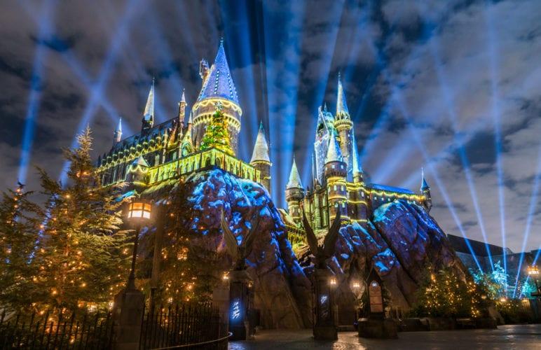 Harry Potter Christmas Universal holidays