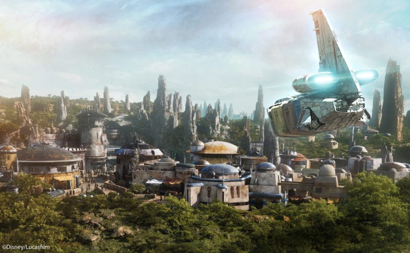 Batuu Star Tours Star Wars Galaxy's Edge