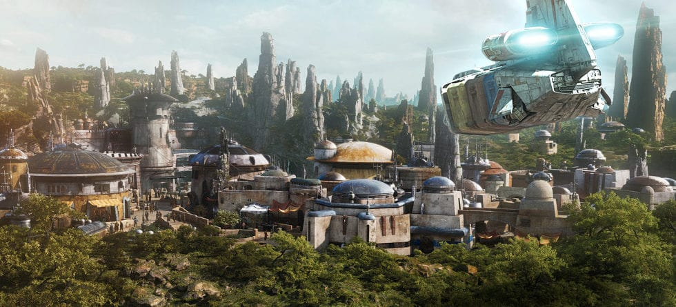 New Star Tours scene unveils Batuu as the Star Wars: Galaxy's Edge planet