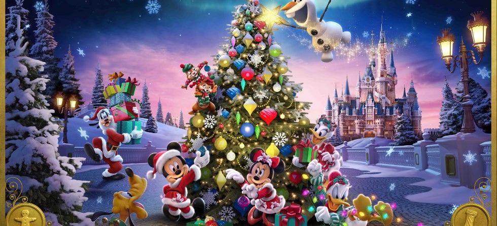 Shanghai Disney Christmas celebrations start Nov. 27
