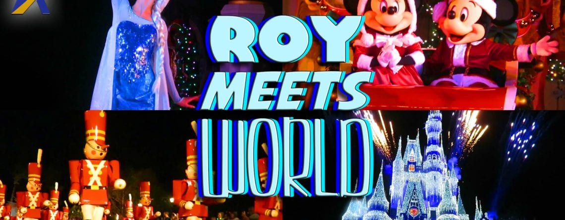 Roy Meets World – A Very Merry Christmas in Pajamas!