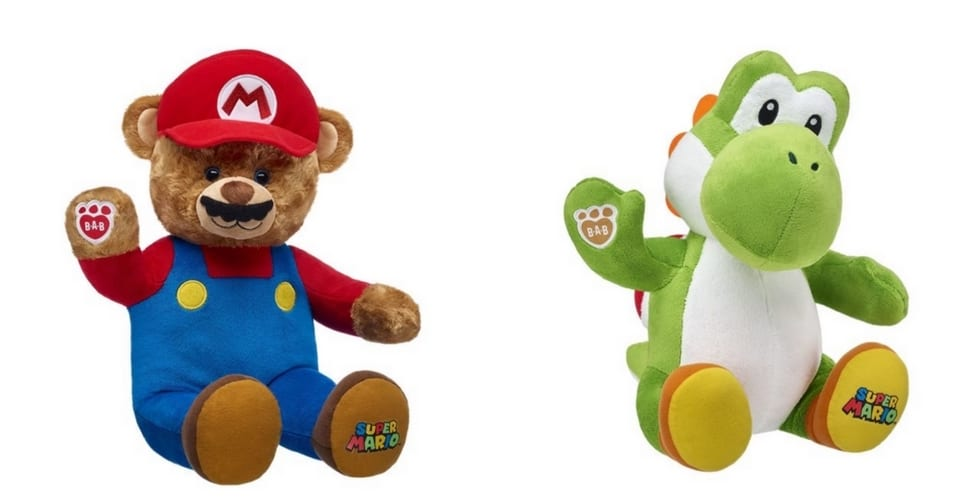 Super Mario Characters Now Available At Build A Bear Workshop