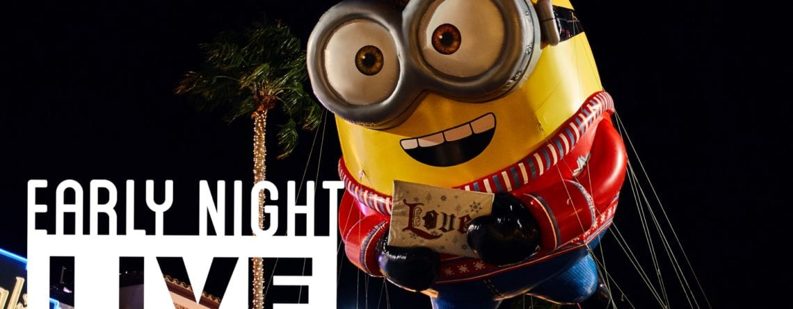 Join us for 'Early Night Live' for Universal's Holiday Parade featuring Macy's