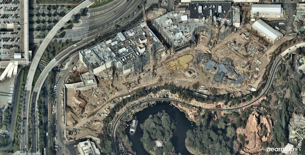 Photo Update: Star Wars Galaxy's Edge construction in ...