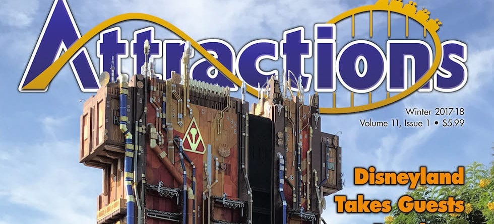 Winter 2017 / 2018 issue of 'Attractions Magazine' now available