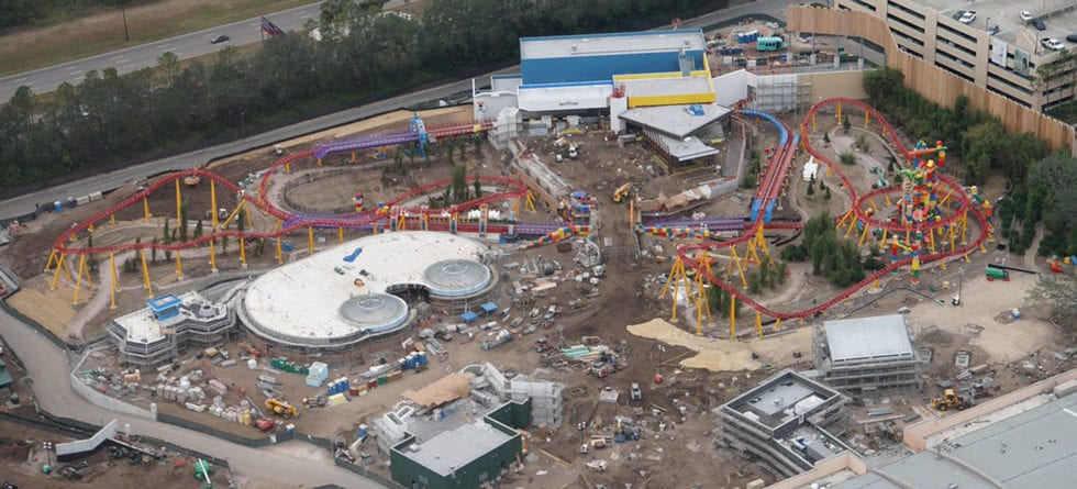 Photo Update: Disney's Skyliner gondolas, Toy Story Land and more, as seen from above