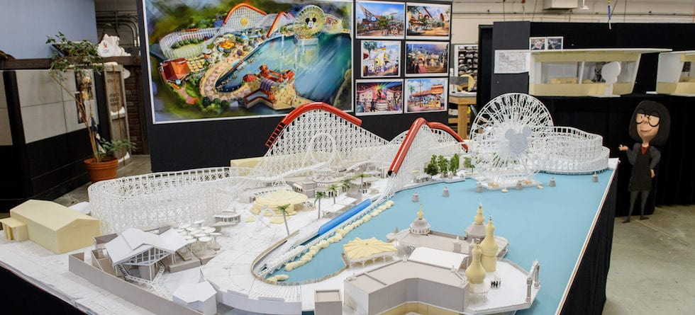 First look at working model of Pixar Pier coming to Disney California Adventure Park