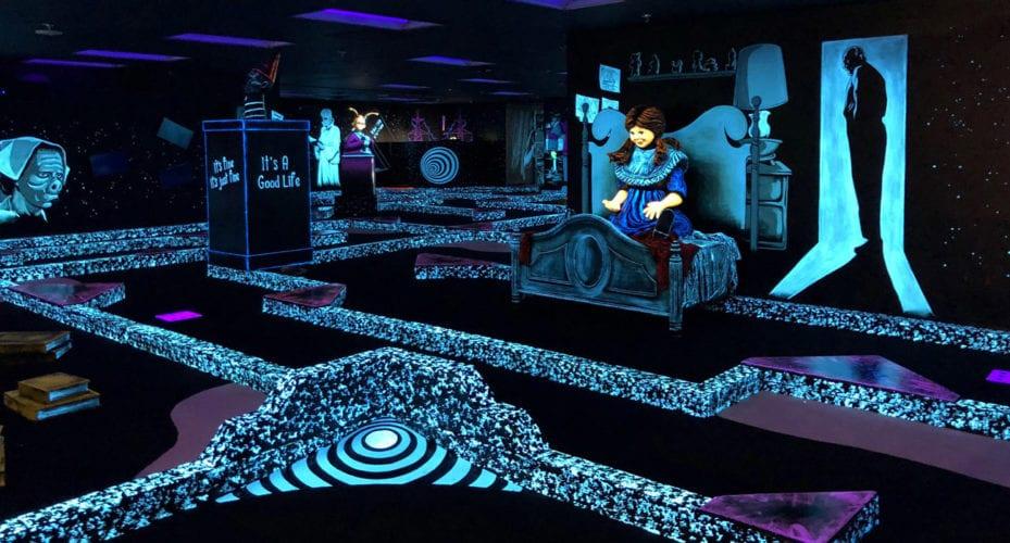 Twilight Zone Monster Mini-Golf