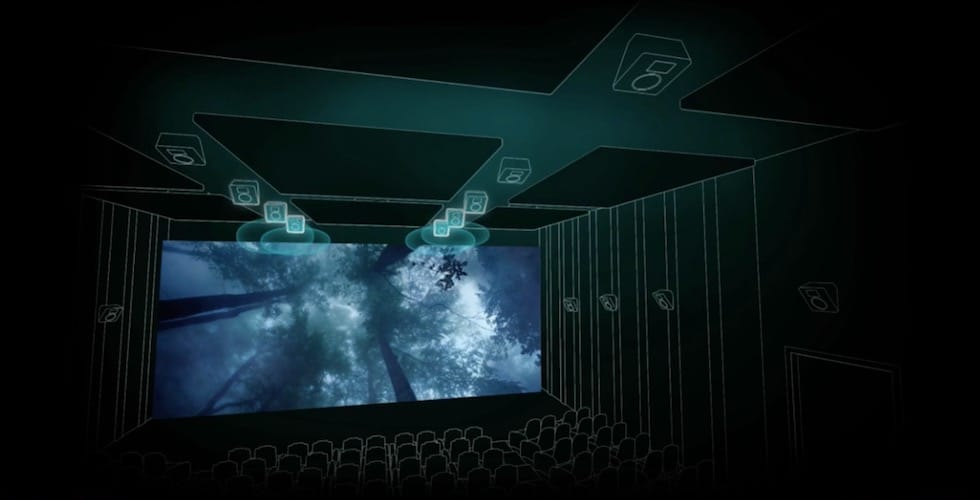 Dolby Cinema drawing