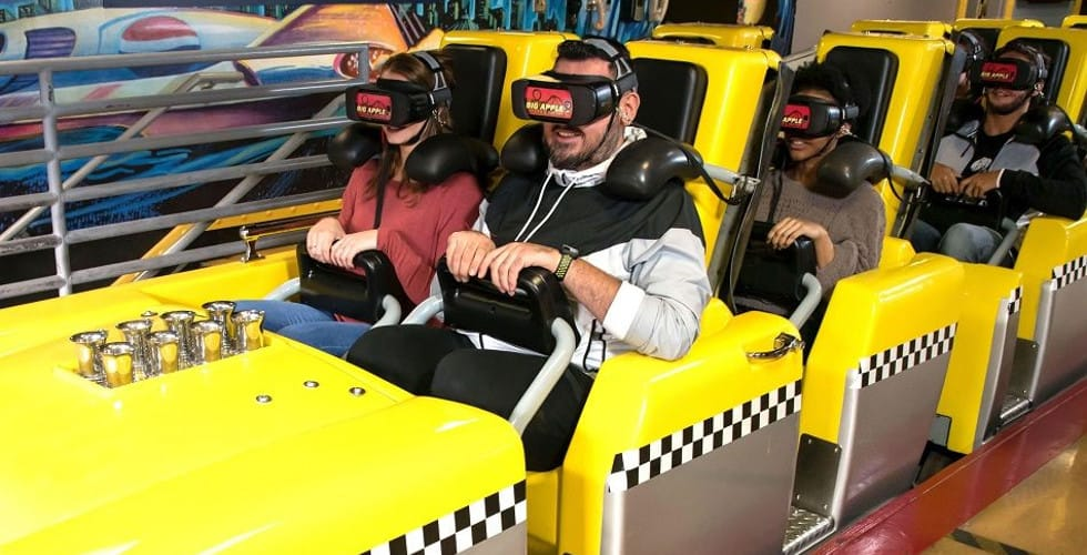 Big Apple Coaster Virtual Reality