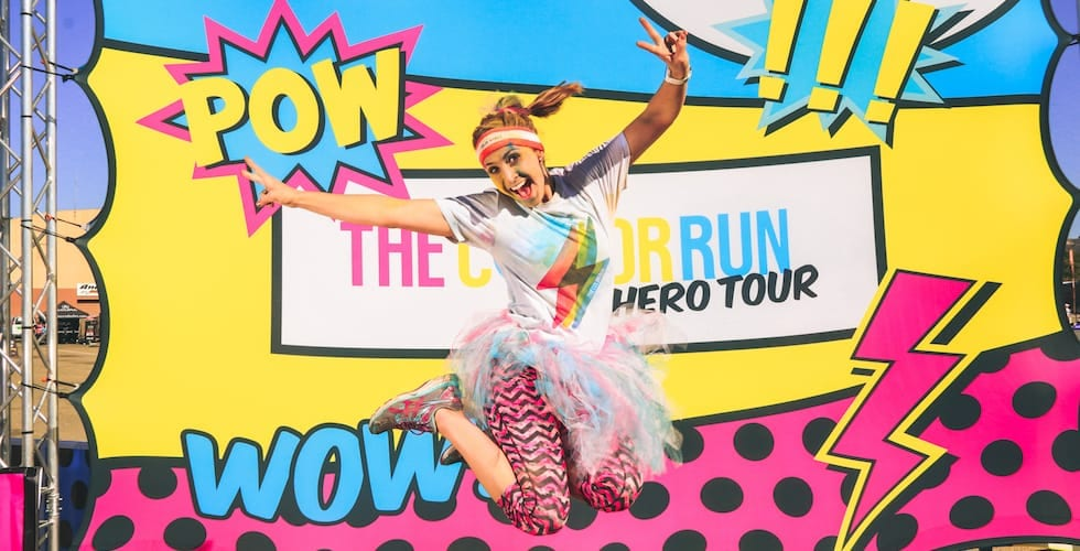 Image result for colour run 2018 hero tour