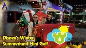 Daycation Kingdom – Disney's Winter Summerland Mini Golf