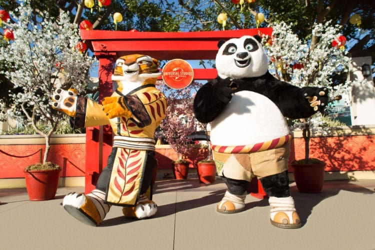 Universal Studios Hollywood Lunar New Year Kung Fu Panda