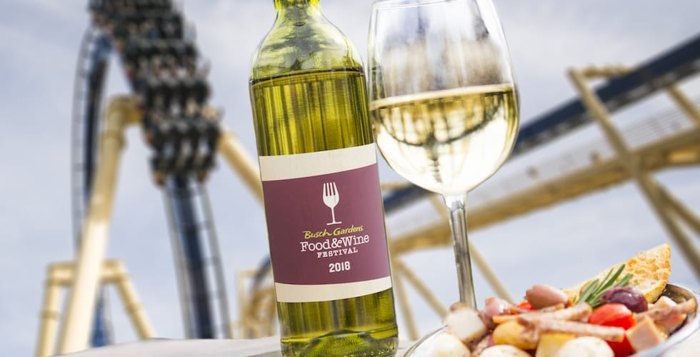 Busch Gardens Fourth Annual Food Wine Festival Returns This March