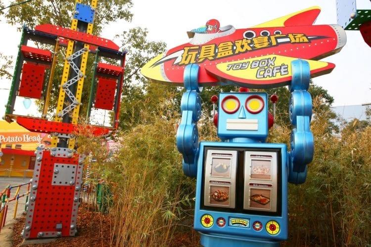 Shanghai Disneyland Toy Box Café