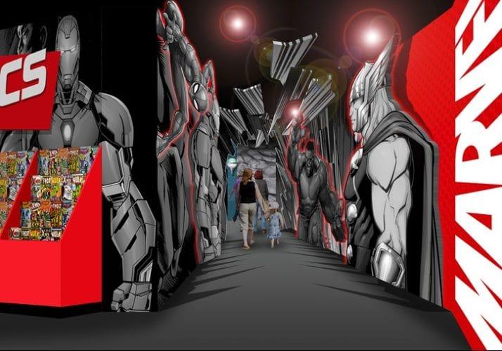 Madame Tussauds Blackpool Marvel Super Heroes