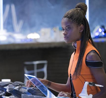 younger sister actress Letitia Wright.