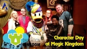 Daycation Kingdom – Character Day at Magic Kingdom